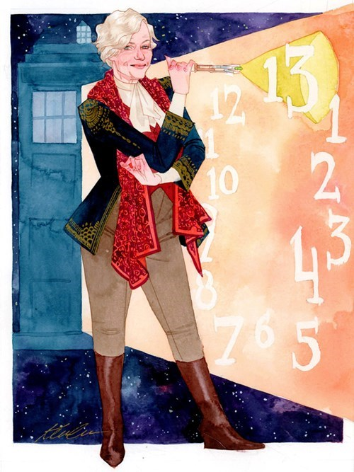 "This Art Wonders, ""What If Helen Mirren Were Our 13th Doctor?"""
