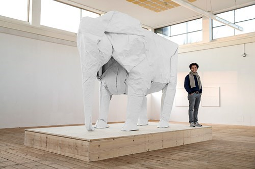 This is Probably the Biggest Piece of Origami Ever Made