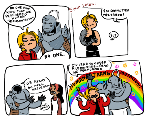 Never Trust the Elric Brothers With Your Deepest, Darkest Secrets