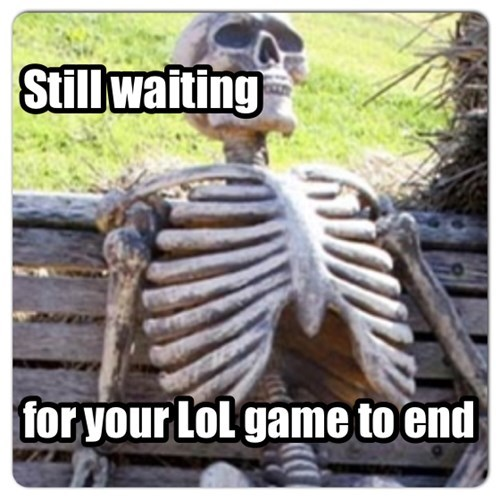 Still waiting