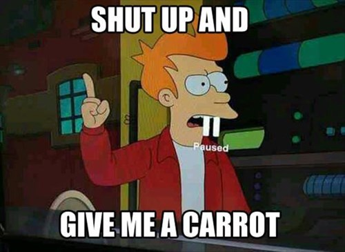 A Carrot Capsule!  Whatever!