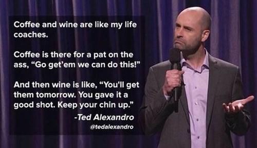 Drinks as Motivational Speakers
