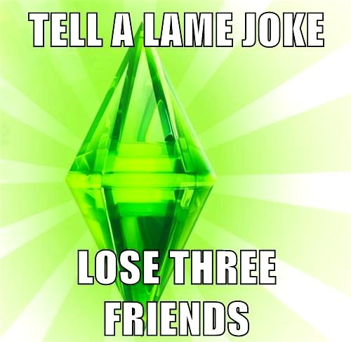 Sims Were a Harsh Bunch