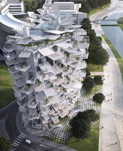 Architecture of the Day: Building in France Designed to Look Like a Tree