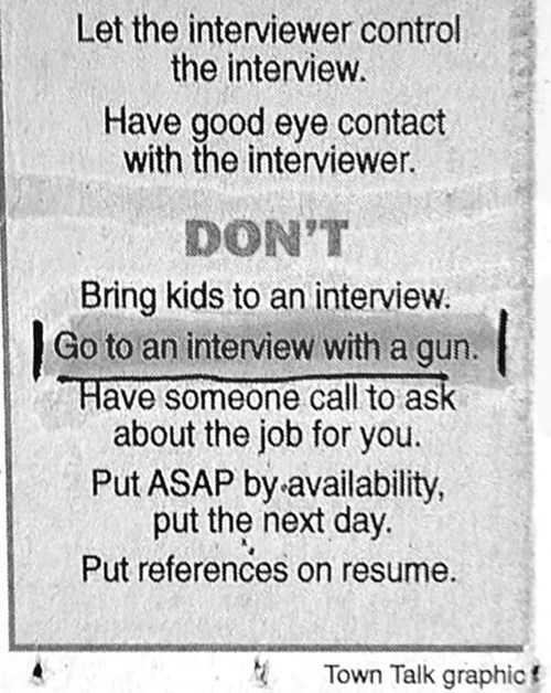 How Else Are You Supposed to Protect Yourself From Recruiters?