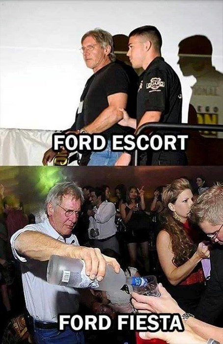 That's Some Harrison Ford Fusion