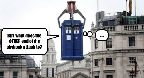 Why Charlie is no longer allowed on board the TARDIS.