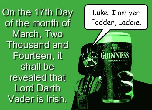 Happy St. Paddy's Day!