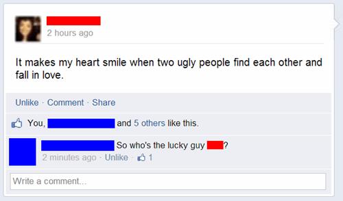 ugly people,sick burn,burn