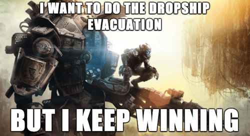 First World Titanfall Problems