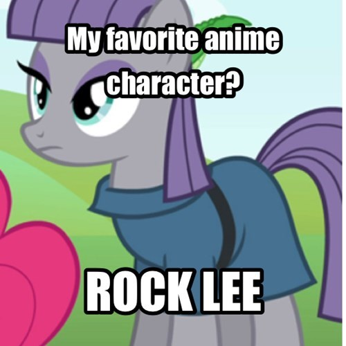 Maudes favorite anime character?
