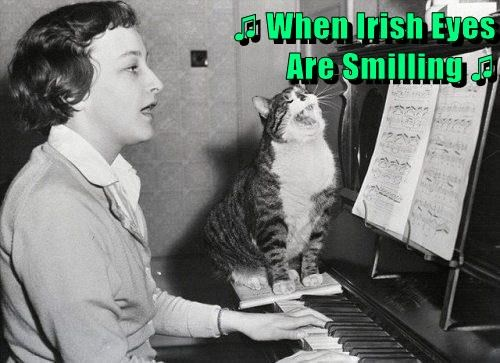 ♫ When Irish Eyes                                               Are Smilling ♫