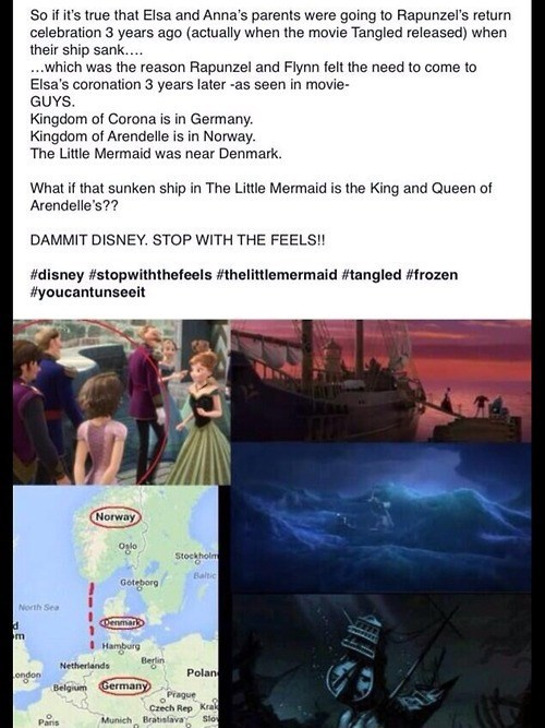Do All Disney Movies Take Place in the Same Universe?