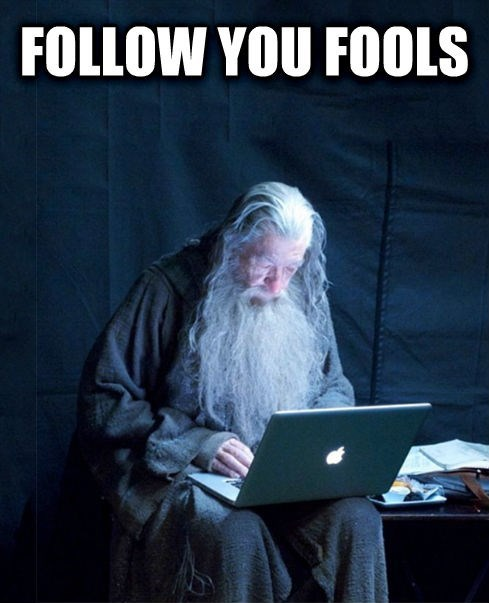Technology Gandalf is the Meme Everyone Will Forget About by the End of the Week