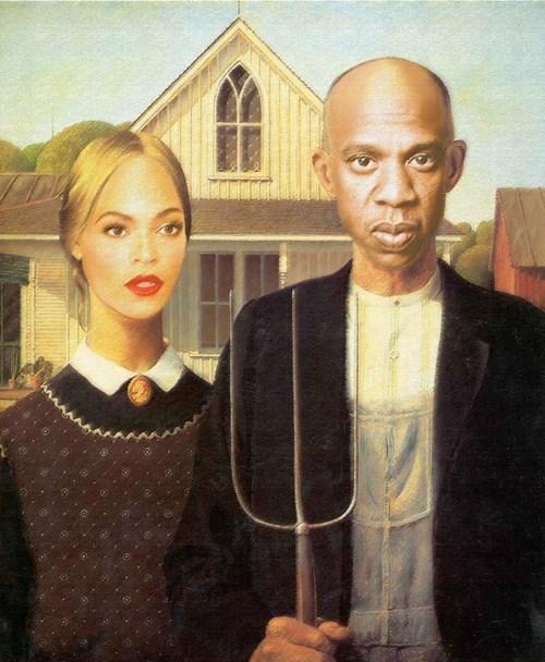 art,beyoncé,funny,Jay Z