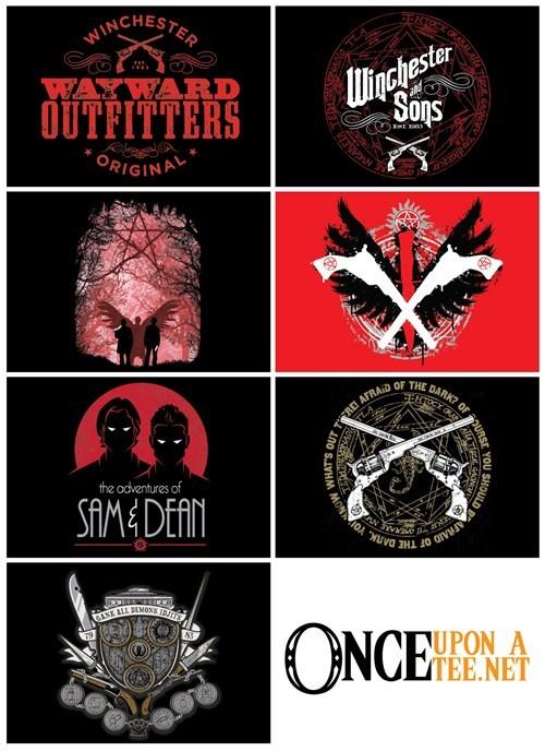 tshirts,Supernatural,dean winchester,sam winchester