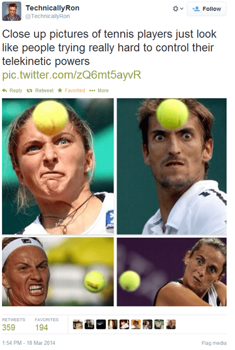 Tennis Players Might Actually be Mutants