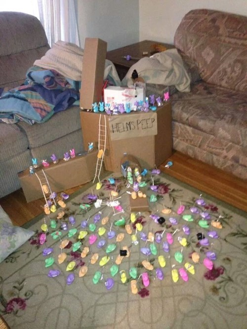 The Battle of Helms Peep