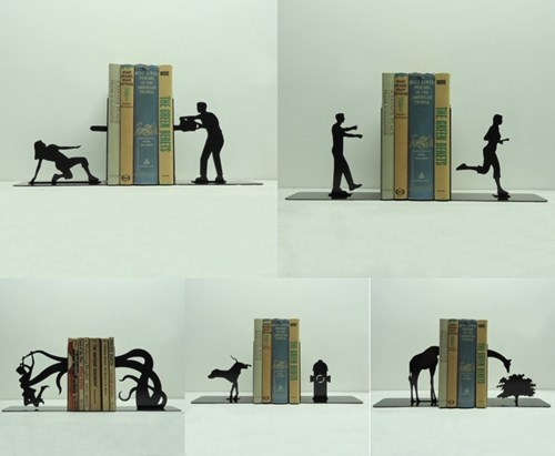 These Bookends Tell a Story All Their Own