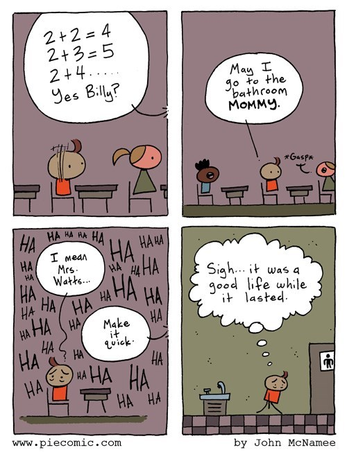 school,mommy,bathroom,web comics