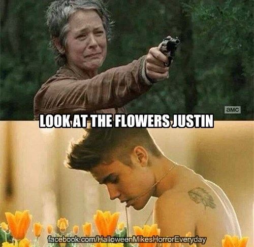 Look at the Flowers Justin
