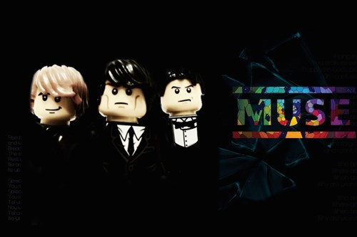 20 Famous Bands Recreated in LEGO