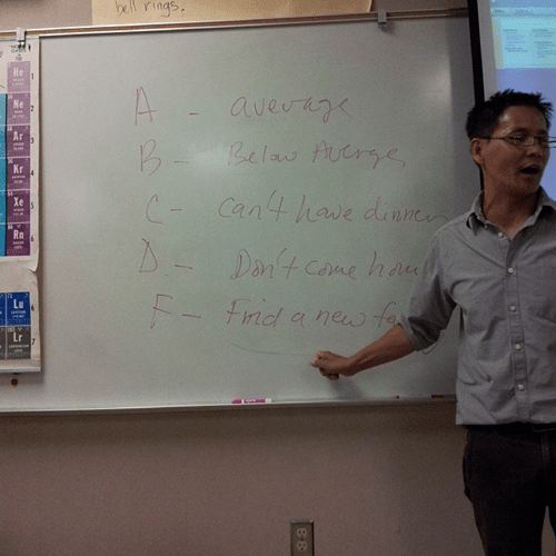grades,high expectations asian dad,funny,g rated,School of FAIL