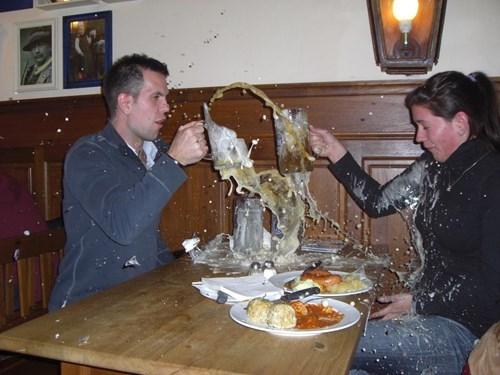 beer,smash,pint glass,funny