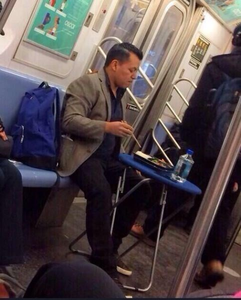 monday thru friday,commute,work,dinner,Subway