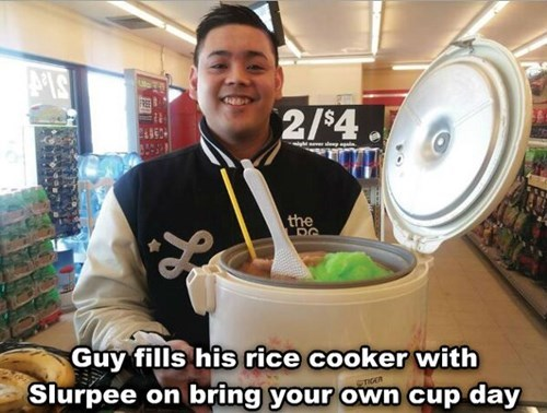 rice cooker,slurpees