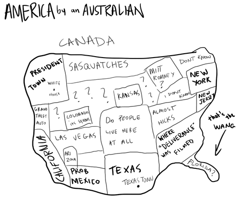 Australians Know a Lot About America