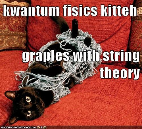kwantum fisics kitteh graples with string theory
