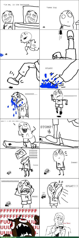 bugs,bathrom,trollface