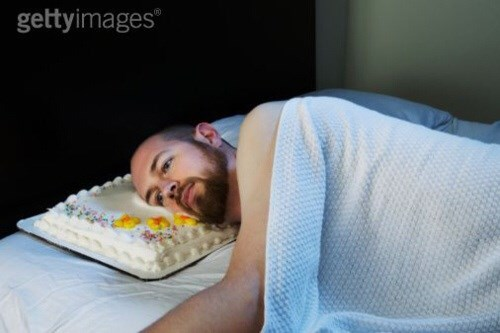 The Perfect Stock Photo for a Sad Birthday