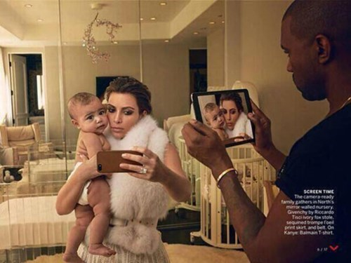 Can You Spot the Photoshop Disaster in Vogue's Piece on Kim and Kanye?