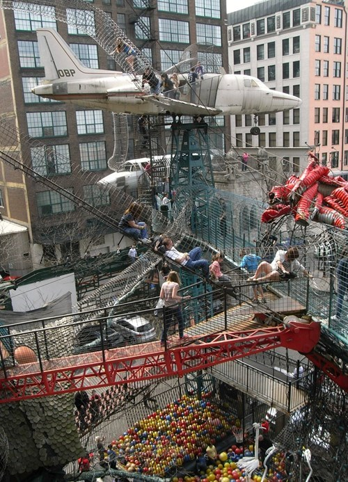 The City Museum in St. Louis Has a Playground Adults Would be Jealous of