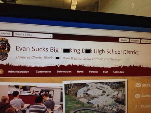 Dear School, I Think You Were Hacked