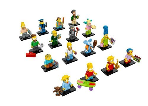 Lego Simpsons Figures Revealed