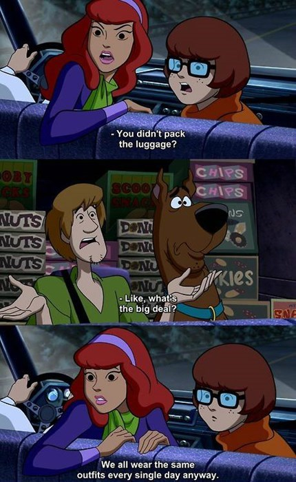Shaggy's Got a Point...