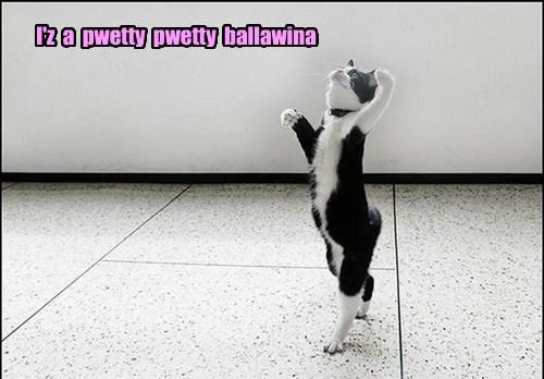 I'z  a  pwetty  pwetty  ballawina