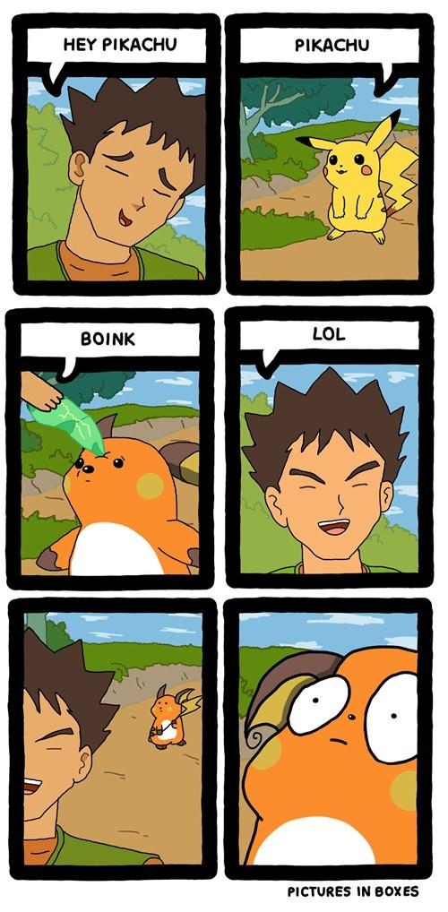 brock,Pokémon,pikachu