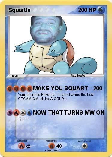 Pokémon,squirtle,squart
