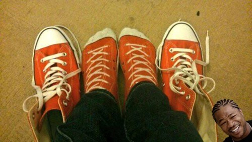 We need to converse about your converse...