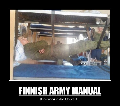 FINNISH ARMY MANUAL