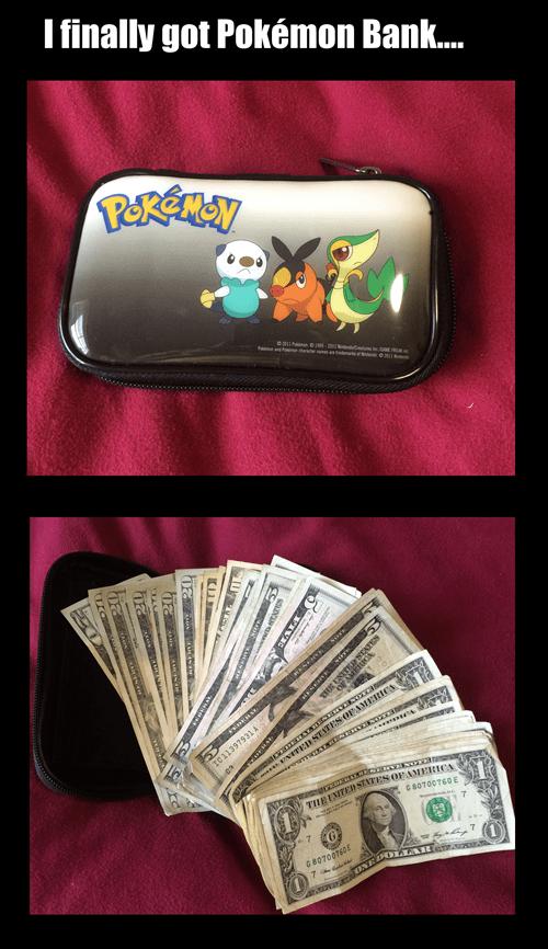 IRL,pokemon bank,money