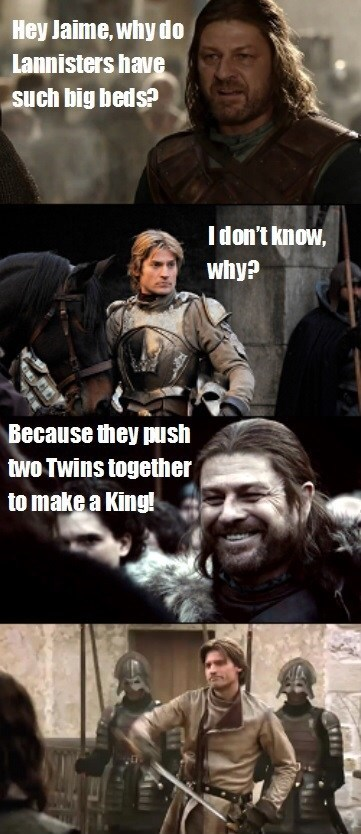 keeping it in the family,jaime lannister