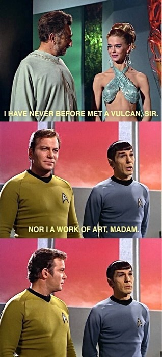 Damn, Spock's Got Game!