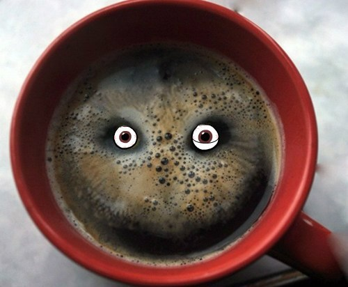 You make coffee nervous