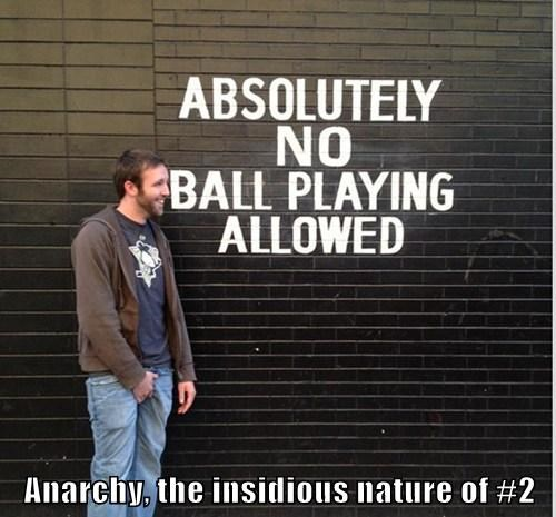 Anarchy, the insidious nature of #2