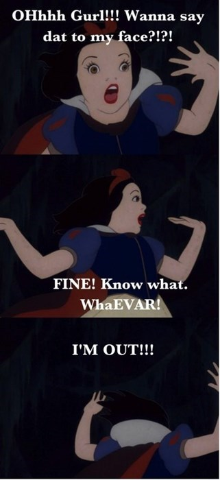 Hashtag Snow White Girl Problems